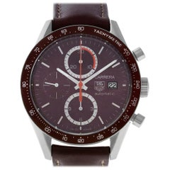 TAG Heuer Calibre CV2013-2, Silver Dial, Certified and Warranty