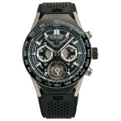 TAG Heuer Carrera 02T Tourbillon ACBF5A80 Men's Automatic Watch Titanium