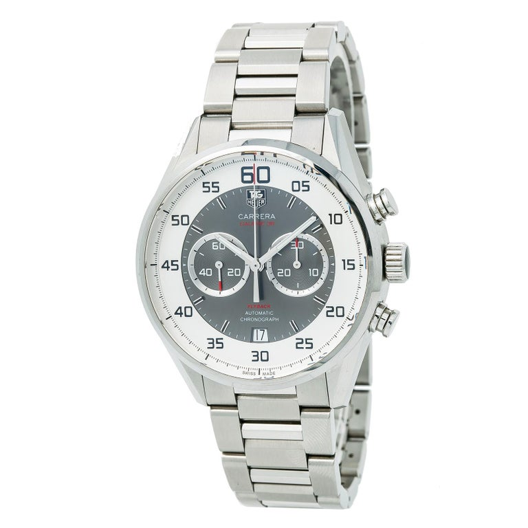 094c4f2bce677 Tag Heuer Carrera 36 Car2B11.Ba0799 Men S Automatic Watch Stainless Steel  43Mm For Sale