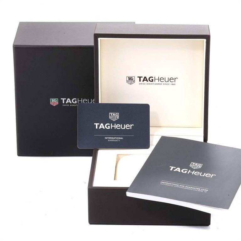 TAG Heuer Carrera 40th Anniversary Legend Men's Watch CV2015 Box Card 7