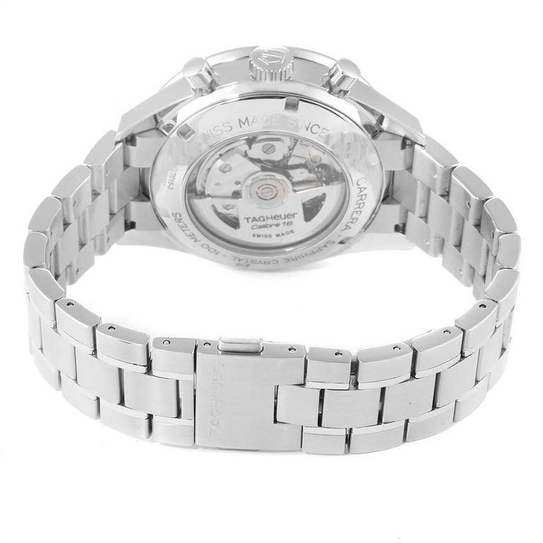 TAG Heuer Carrera 40th Anniversary Legend Men's Watch CV2015 Box Card 4