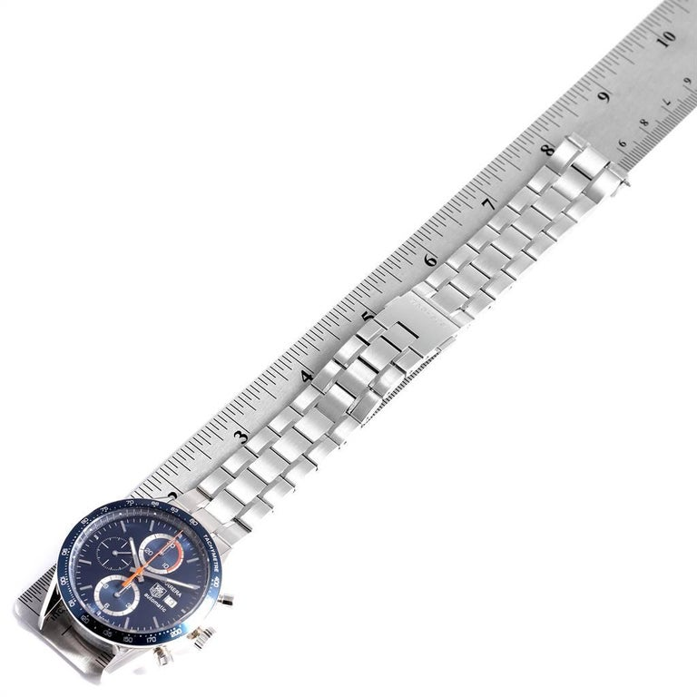 TAG Heuer Carrera 40th Anniversary Legend Men's Watch CV2015 Box Card 5