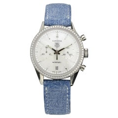 TAG Heuer Carrera Automatic Watch with Diamonds