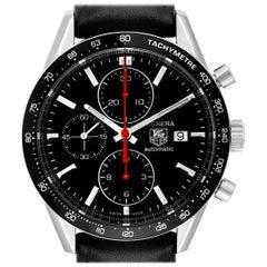 TAG Heuer Carrera Black Dial Chronograph Men's Watch CV2014