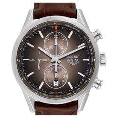 TAG Heuer Carrera Brown Dial Chronograph Steel Men's Watch CAR2112