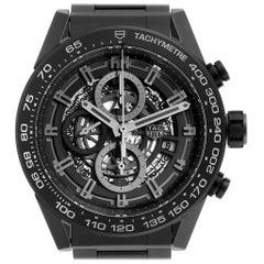 TAG Heuer Carrera Calibre 01 Skeleton Ceramic Watch CAR2A91 Unworn