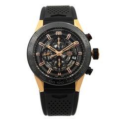 TAG Heuer Carrera Calibre Heuer 01 Gold Titanium Men's Watch CAR2A5A.FT6044