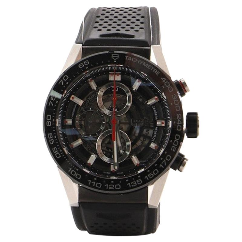 TAG Heuer Carrera Calibre Heuer 01 Skeleton Chronograph Automatic Watch