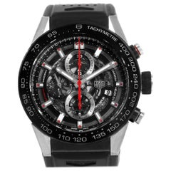 TAG Heuer Carrera Calibre Heuer 01 Skeleton Dial Men's Watch CAR2A1Z