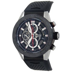 TAG Heuer Carrera CAR2A1Z.FT6044, Black Dial, Certified and Warranty