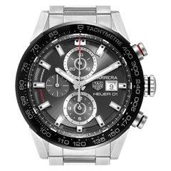 TAG Heuer Carrera Chronograph Automatic Men's Watch CAR201W Box Card