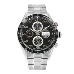 TAG Heuer Carrera Chronograph Day Date Black Dial Automatic Watch CV2A10.BA0796