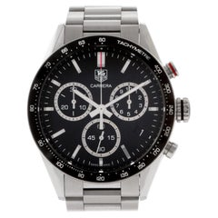 TAG Heuer Carrera CV1A10.BA0799, Black Dial, Certified and Warranty