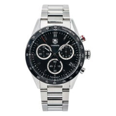 TAG Heuer Carrera CV1A10.BA0799, Grey Dial, Certified and Warranty