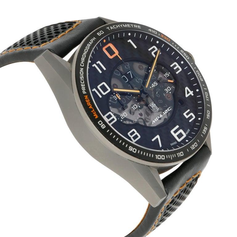 TAG Heuer Carrera McLaren CAR2080.FC6286 Men's Watch in Titanium For Sale 1