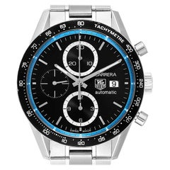 TAG Heuer Carrera Ring Master Jenson Button Limited Edition Watch CV201X