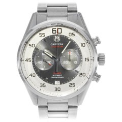 TAG Heuer Carrera Silver Dial Steel Automatic Men's Watch CAR2B11.BA0799