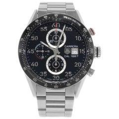 TAG Heuer Carrera Steel Ceramic Black Dial Automatic Men's Watch CAR2A10.BA0799