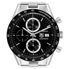 TAG Heuer Carrera Tachymeter Chronograph Steel Men's Watch CV2010
