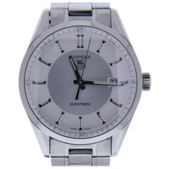 TAG Heuer Carrera WV211A with Band, Stainless-Steel Bezel and Silver Dial