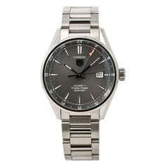 TAG Heuer Carrera WAR2012, Gray Dial Certified Authentic