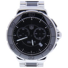TAG Heuer Formula 1 CAH1210.BA0862 with Band, Ceramic Bezel and Black Dial