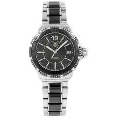 TAG Heuer Formula One Black Dial Steel Ceramic Ladies Mint Watch WAH121A.BA0859
