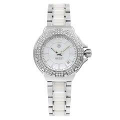 TAG Heuer Formula One Steel Ceramic Diamond Ladies Watch WAH1215.BA0861