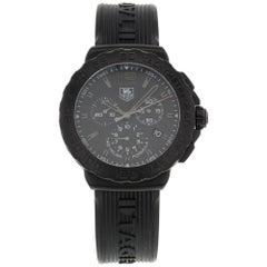 TAG Heuer Formula One Steel Titanium Black Dial Quartz Mens Watch CAU1114.FT6024