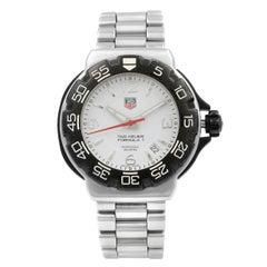 TAG Heuer Formula One White Dial Steel Quartz Men's Watch WAC1111.BA0850