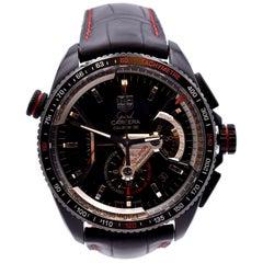 TAG Heuer Grand Carrera Black Titanium Watch Ref. CAV5185