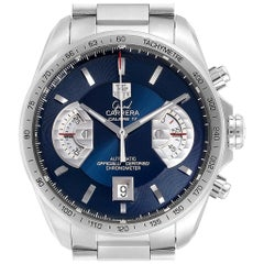 TAG Heuer Grand Carrera Blue Dial Limited Edition Men's Watch CAV511F