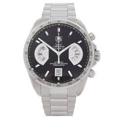 Tag Heuer Grand Carrera Chronograph Stainless Steel Men's CAV511A
