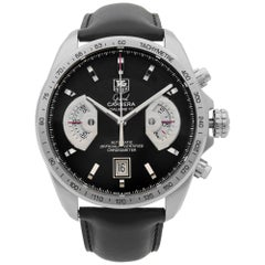 TAG Heuer Grand Carrera Chronograph Steel Automatic Men's Watch CAV511A.FC6225