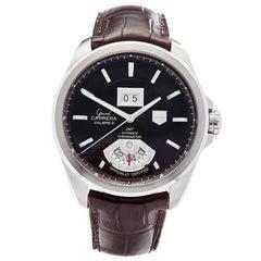 TAG Heuer Grand Carrera Date Stainless Steel Men's WAV5113