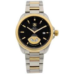 TAG Heuer Grand Carrera Steel Black Dial Automatic Men's Watch WAV515A.BD0903