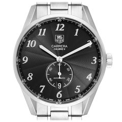 TAG Heuer Heritage Calibre 6 Black Dial Men's Watch WAS2110