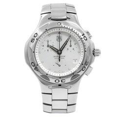 TAG Heuer Kirium Chrono Silver Dots Dial Steel Quartz Men's Watch Cl1111.BA0700