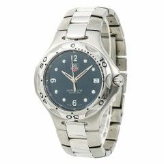 TAG Heuer Kirium WL1013 Men's Quartz Watch Blue Dial Stainless Steel