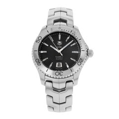 TAG Heuer Link Caliber 5 Black Dial Steel Automatic Men's Watch WJ201A.BA0591