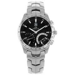 TAG Heuer Link Chronograph Black Dial Steel Quartz Men's Watch CJF7110.BA0592