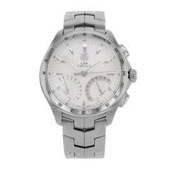 eded464cc5a TAG Heuer Link Chronograph Silver Dial Steel Quartz Men s Watch  CAT7011.BA0952