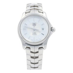 TAG Heuer Link Ladies Wristwatch, Stainless Steel Quartz 2 Year Warranty WJF1314