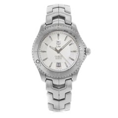 TAG Heuer Link Stainless Steel Silver Dial Automatic Men's Watch WJ201B.BA0591
