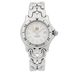 TAG Heuer Link Stainless Steel White Dial Quartz Ladies Watch WG1310-R0