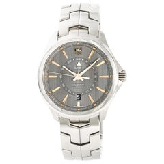 TAG Heuer Link WAT201C, Black Dial, Certified and Warranty