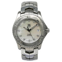 TAG Heuer Link WJ1114-0, Mother of Pearl Dial, Certified