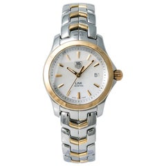 TAG Heuer Link WJF1352, White Dial, Certified and Warranty