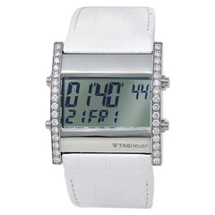 TAG Heuer Microtimer CS111F, Silver Dial, Certified and Warranty