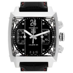TAG Heuer Monaco 24 Black Dial Chronograph Men's Watch CAL5113